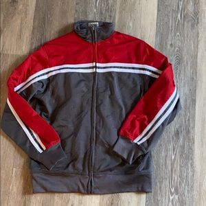 Athletic works boys zip up jacket size 8/10